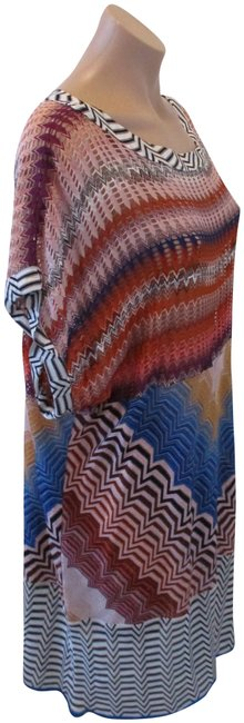 Item - Multi-color Mare Scoop Neck Sleeveless - Cover-up/Sarong Size 12 (L)