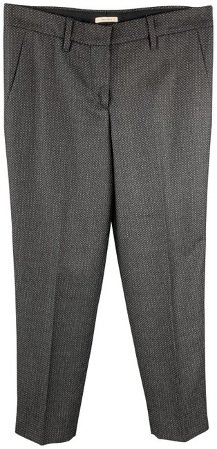 Item - Charcoal Grey Houndstooth Wool Dress Pants Size 2 (XS, 26)