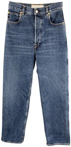 Golden Goose Deluxe Brand Kim Italy Washed Trouser/Wide Leg Jeans-Medium Wash