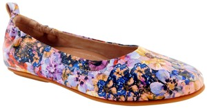 FitFlop Allegro Flowercrush Oyster Pink Morning Glory Floral Flats