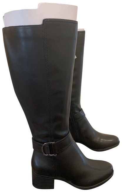 Item - Black Kelso Calf Boots/Booties Size US 6 Wide (C, D)