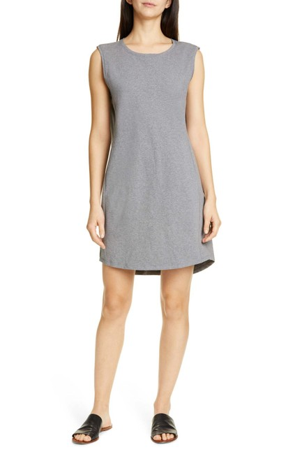 Item - Gray Moon Scoop Neck Shift Mid-length Short Casual Dress Size 2 (XS)