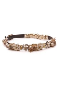 Chanel Chanel Paris-Greece Floral Headband - Metallic Gold