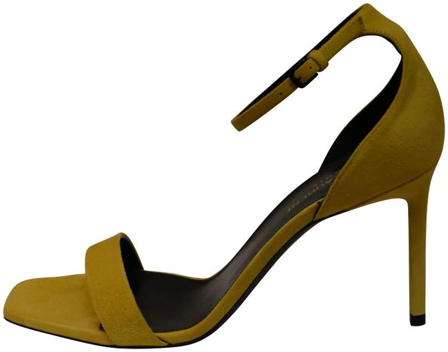 Item - Yellow - Amber Suede 85 Astrap Sandal - 467535_c2000_7205 Pumps Size EU 40 (Approx. US 10) Regular (M, B)