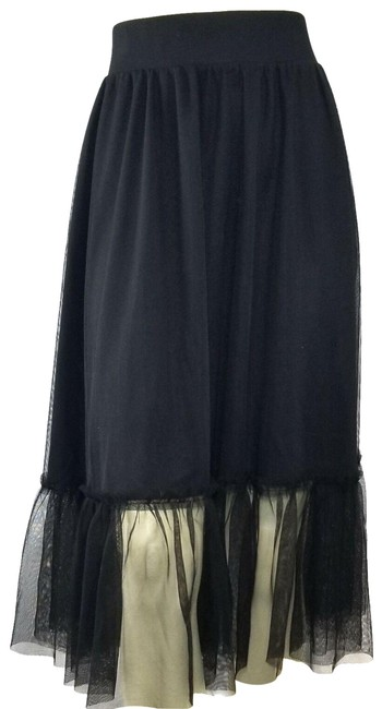 Torrid Black Tulle Ruffled A-line Holiday Evening Skirt Size 20 (Plus 1x) Torrid Black Tulle Ruffled A-line Holiday Evening Skirt Size 20 (Plus 1x) Image 1