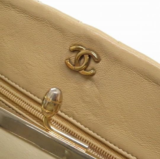 Chanel Quilted Lambskin Leather Chevron Shoulder Bag Image 7