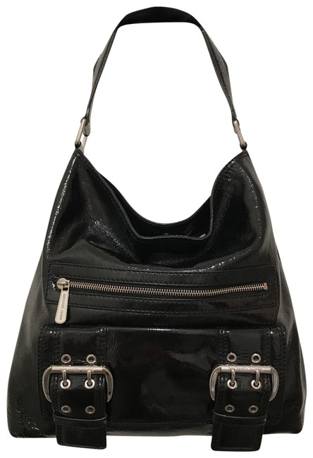 Item - Redding Black Silver Patent Leather Tote