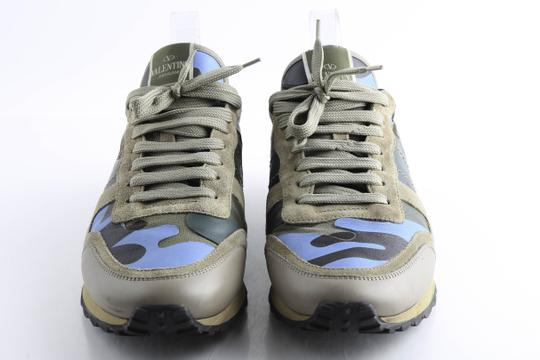 Valentino Multi-color Camouflage Rockrunner Sneaker Shoes Image 2