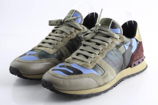 Valentino Multi-color Camouflage Rockrunner Sneaker Shoes Image 3