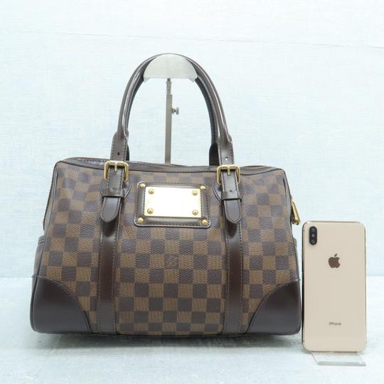 Louis Vuitton Lv Ebene Berkeley Canvas Shoulder Bag Image 1