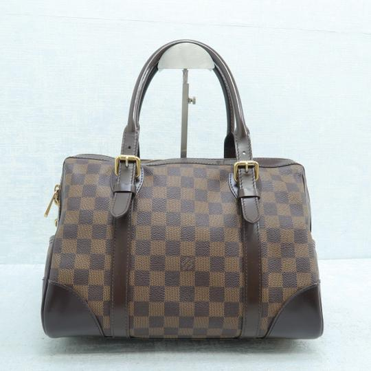Louis Vuitton Lv Ebene Berkeley Canvas Shoulder Bag Image 2