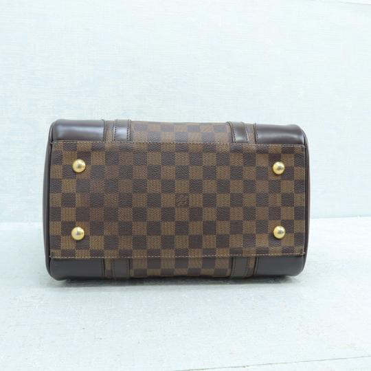 Louis Vuitton Lv Ebene Berkeley Canvas Shoulder Bag Image 4