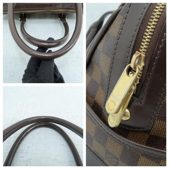 Louis Vuitton Lv Ebene Berkeley Canvas Shoulder Bag Image 6