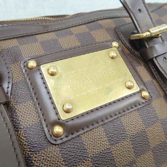 Louis Vuitton Lv Ebene Berkeley Canvas Shoulder Bag Image 7