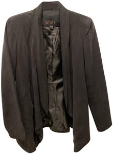 Wish Cutaway Jacket Black Blazer