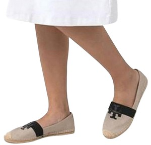 Tory Burch Espadrille Weston Loafers Brown / Black Flats