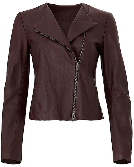 Item - Brown with Tag cross Front Jacket Size 12 (L)