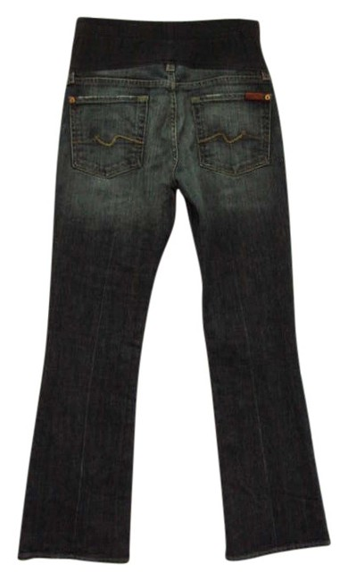 2228eb44bb855 7 For All Mankind Maternity A Pea In The Pod Maternity Denim Size 4 ...