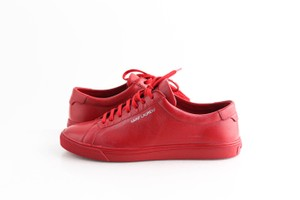 Saint Laurent Red Andy Sneakers Shoes