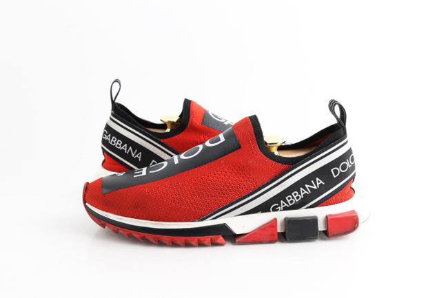 Item - Red Sorrento Sneakers with Logo Shoes