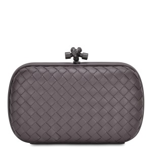 Bottega Veneta Taupe Clutch