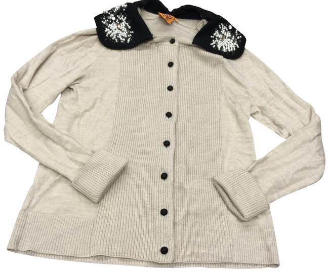 Item - Cream Cardigan Size 8 (M)