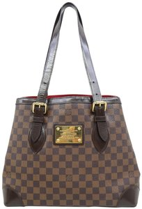 Louis Vuitton Lv Hampstead Canvas Damier Ébène Shoulder Bag