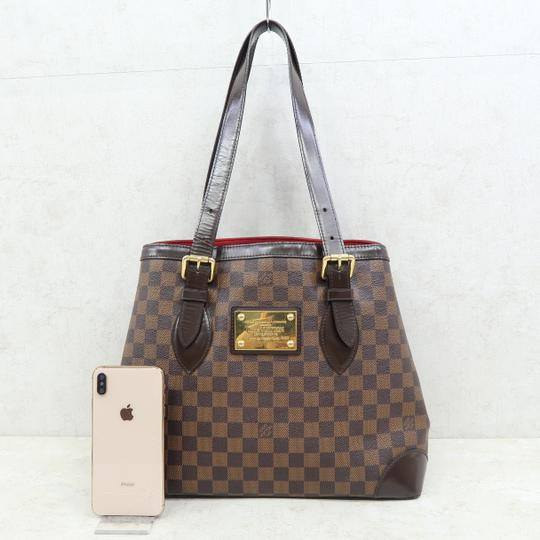 Louis Vuitton Lv Hampstead Canvas Damier bène Shoulder Bag Image 1