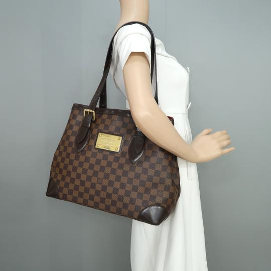 Louis Vuitton Lv Hampstead Canvas Damier bène Shoulder Bag Image 11