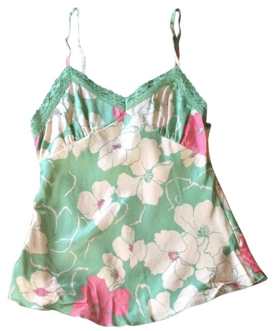 Preload https://img-static.tradesy.com/item/2644213/kensie-mint-and-pink-blouse-size-2-xs-0-0-650-650.jpg