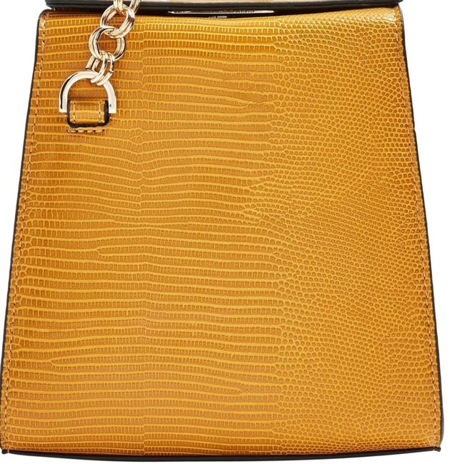 Item - Croc Mustard Shoulder Bag