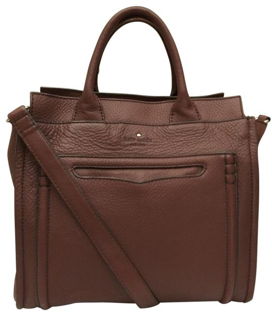 Item - Claremont Drive Marcella Brown Leather Satchel
