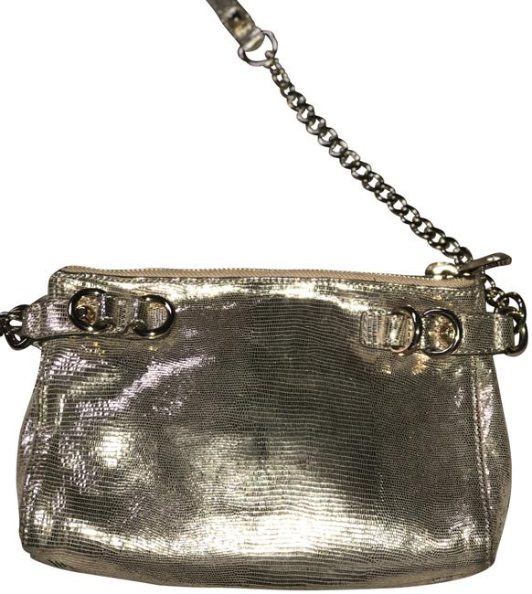 Item - Dylan Gold Suede Leather Cross Body Bag