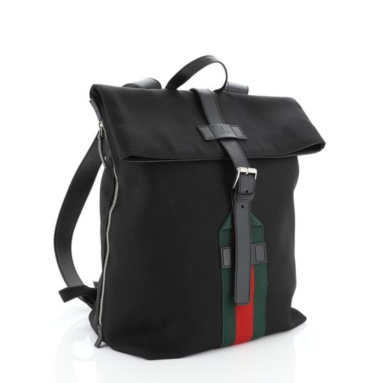 Gucci Canvas Backpack Image 1