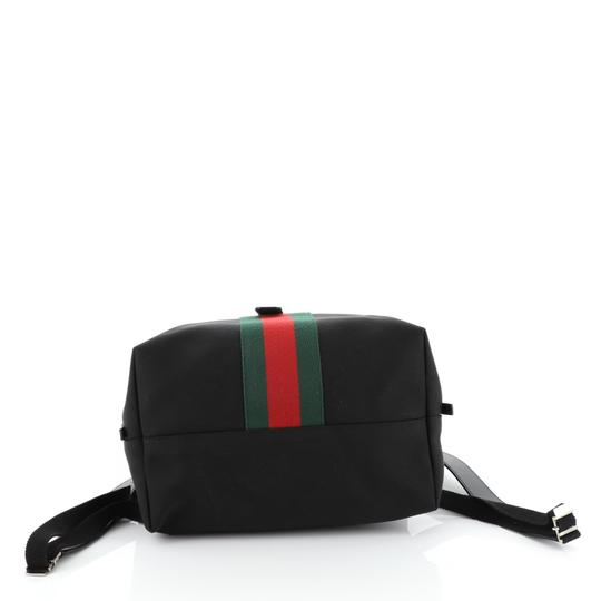 Gucci Canvas Backpack Image 3