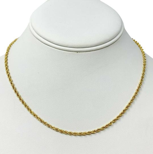 Preload https://img-static.tradesy.com/item/26444163/14k-yellow-gold-solid-76g-diamond-cut-25mm-rope-chain-16-necklace-0-1-540-540.jpg