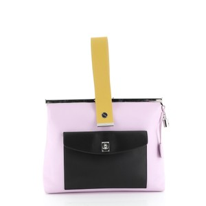 Christian Dior Leather purple Clutch