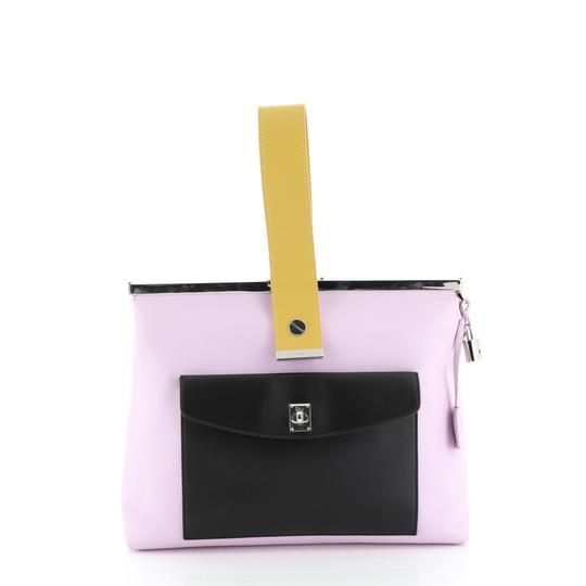 Christian Dior Leather purple Clutch Image 0