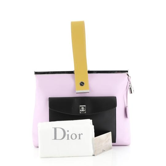 Christian Dior Leather purple Clutch Image 1