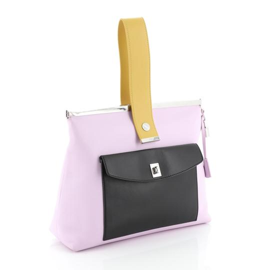 Christian Dior Leather purple Clutch Image 2