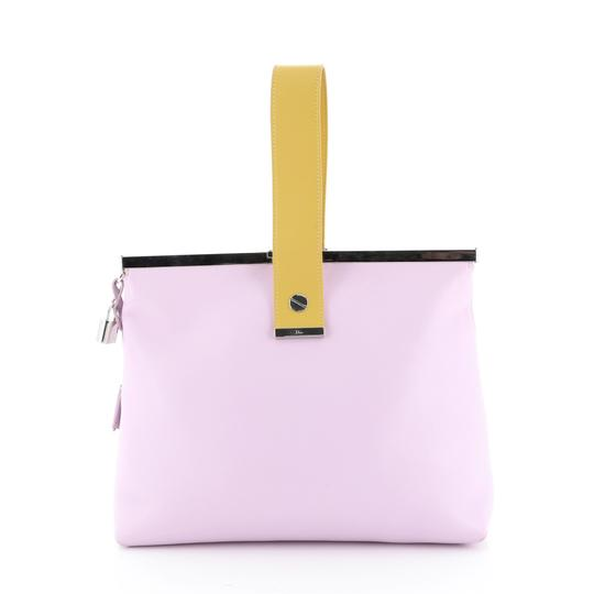 Christian Dior Leather purple Clutch Image 4