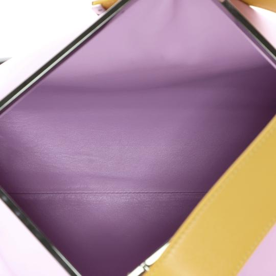 Christian Dior Leather purple Clutch Image 6