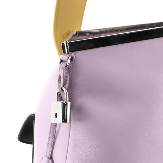 Christian Dior Leather purple Clutch Image 7