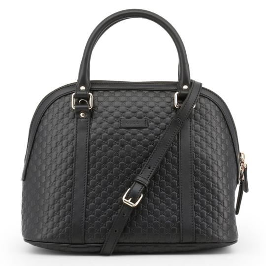 Gucci Dome Crossbody Gg Guccissima Satchel in black Image 0