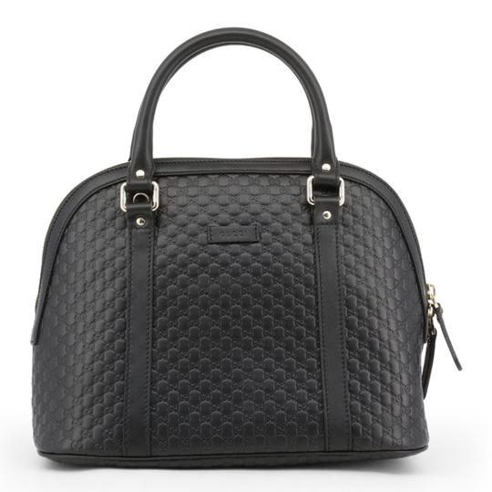Gucci Dome Crossbody Gg Guccissima Satchel in black Image 1