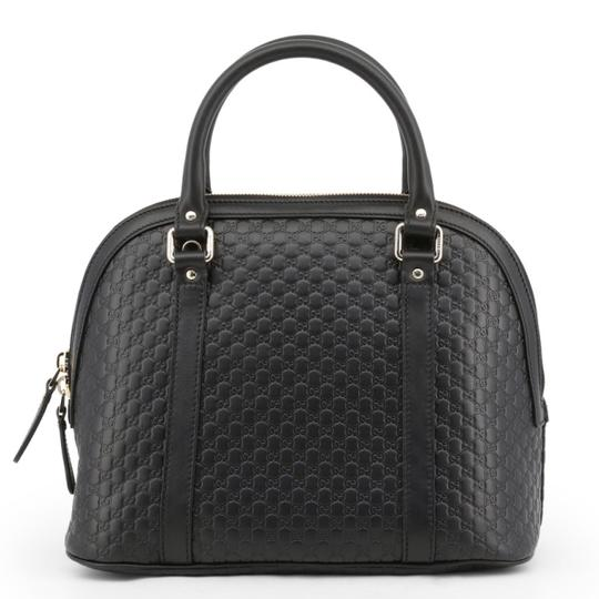 Gucci Dome Crossbody Gg Guccissima Satchel in black Image 3