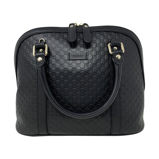 Gucci Dome Crossbody Gg Guccissima Satchel in black Image 4