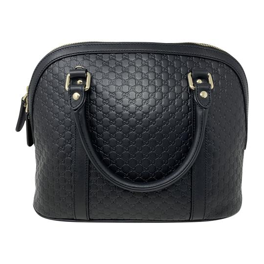 Gucci Dome Crossbody Gg Guccissima Satchel in black Image 5