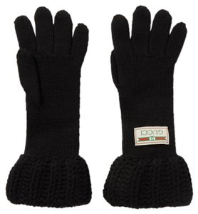 Gucci Gucci Wool Gloves Size Medium