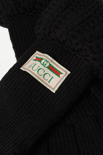 Gucci Gucci Wool Gloves Size Medium Image 1